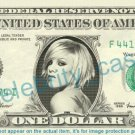 PINK Singer on REAL Dollar Bill Cash Money Bank Note Currency Dinero Celebrity