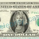 DAVID BRYAN Bon Jovi on REAL Dollar Bill Cash Money Bank Note Currency Dinero Celebrity