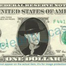 TRACE ADKINS on REAL Dollar Bill Cash Money Bank Note Currency Dinero Celebrity