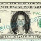 SARA EVANS singer on REAL Dollar Bill Cash Money Bank Note Currency Dinero