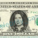 BILLY RAY CYRUS on REAL Dollar Bill Cash Money Bank Note Currency Dinero