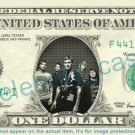 PARKWAY DRIVE music band on REAL Dollar Bill Cash Money Bank Note Currency