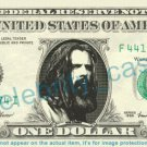 ROB ZOMBIE on REAL Dollar Bill Cash Money Bank Note Currency Dinero Celebrity