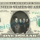 STATIC-X music band on REAL Dollar Bill Cash Money Bank Note Currency Dinero