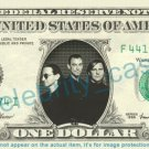 Ted Nugent on REAL Dollar Bill Cash Money Bank Note Currency Dinero Celebrity