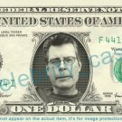 STEPHEN KING on REAL Dollar Bill Cash Money Bank Note Currency Dinero Celebrity