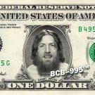 DANIEL BRYAN Wrestler WWE on REAL Dollar Bill Cash Money Bank Note Currency