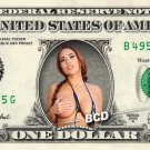 CHRISTINE MENDOZA Porn Star on REAL Dollar Bill Cash Money Bank Note Currency