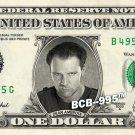 DEAN AMBROSE Wrestler WWE on REAL Dollar Bill Cash Money Bank Note Currency