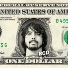 DAVID GROHL Nirvana On Real Dollar Bill Cash Money Bank Note Currency Celebrity