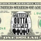 STRAIGHT OUTTA COMPTON Movie on REAL Dollar Bill Cash Money Bank Note Currency