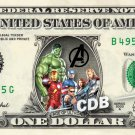 AGE OF ULTRON on REAL Dollar Cash Money Memorabilia Collectible Marvel Disney
