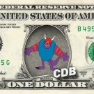 BACKSON Disney on REAL Dollar Bill Cash Money Memorabilia Collectible Celebrity