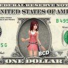 KAIRI - Kingdom Hearts on REAL Dollar Bill Disney Cash Money Memorabilia Mint