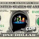 INSIDE OUT the Movie on REAL Dollar Bill Disney Cash Money Memorabilia Mint $