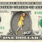 HONEY LEMON Big Hero 6 on REAL Dollar Bill Disney Cash Money Memorabilia Mint