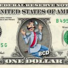 GRAND DUKE Cinderella on REAL Dollar Bill Disney Cash Money Memorabilia Mint
