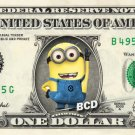 Despicable Me MINION REAL Dollar Bill Disney Cash Money Collectible Memorabilia