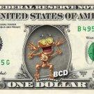 B.E.N. Treasure Planet on REAL Dollar Bill Disney Cash Money Memorabilia