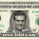 ALBERTO DEL RIO on REAL Dollar Bill WWE Wrestler Cash Money Memorabilia Celebrity Bank