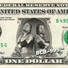 OSOS on REAL Dollar Bill WWE Wrestler Cash Money Memorabilia Celebrity Bank