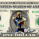 NOVA on REAL Dollar Bill Marvel Disney Cash Money Memorabilia Collectible Bank