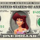 MEGARA - Hercules - REAL Dollar Bill Disney Cash Money Memorabilia Collectible