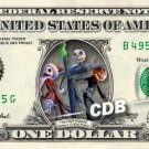 A NIGHTMARE BEFORE CHRISTMAS - REAL Dollar Bill Disney Cash Money Memorabilia