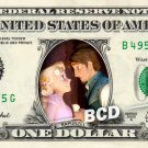 RAPUNZEL FLYNN RIDER REAL Dollar Bill Disney Cash Money Memorabilia Collectible