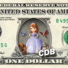 SOFIA THE FIRST & Friends - REAL Dollar Bill Disney Cash Money Memorabilia Bank
