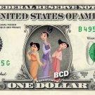 TING-TING SU & MEI Mulan - REAL Dollar Bill Disney Cash Money Memorabilia