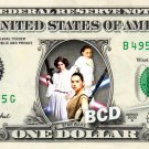 STAR WARS Princesses on REAL Dollar Bill Disney Cash Money Memorabilia Bank