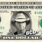 KENNY CHESNEY on REAL Dollar Bill Cash Money Memorabilia Collectible Celebrity
