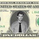 CHRIS HEMSWORTH on REAL Dollar Bill Collectible Celebrity Cash Memorabilia Money