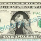 DIXIE CHICKS on REAL Dollar Bill Cash Money Memorabilia Collectible Celebrity