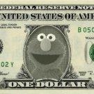 ELMO Sesame Street on REAL Dollar Bill Cash Money Memorabilia Collectible Bank