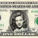 LAUREN BACALL on REAL Dollar Bill Cash Money Memorabilia Collectible Celebrity