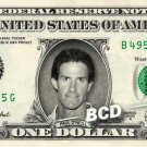 PAUL O'NEILL on a REAL Dollar Bill Cincinnati Reds MLB Cash Money Memorabilia