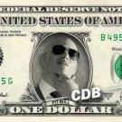 PIT BULL on REAL Dollar Bill Pitbull Singer Cash Money Memorabilia Collectible