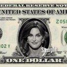 CAITLYN JENNER on REAL Dollar Bill Kardashian Collectible Cash Memorabilia Money
