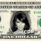 Kim Kardashian REAL Dollar Bill Collectible Celebrity Cash Memorabilia Money $