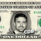 JUSTIN TIMBERLAKE on A REAL Dollar Bill Cash Money Memorabilia Collectible Bank