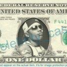 NELLY Rapper on a REAL Dollar Bill Cash Money Memorabilia Collectible Celebrity