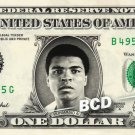 MUHAMMAD ALI on REAL Dollar Bill Cash Money Memorabilia Collectible Celebrity Bank