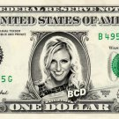 CHARLOTTE FLAIR on REAL Dollar Bill WWE Cash Money Memorabilia Collectible Bank