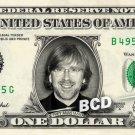 TREY ANASTASIO on REAL Dollar Bill Cash Money Memorabilia Collectible Celebrity