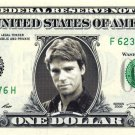 MACGYVER on a REAL Dollar Bill Cash Money Memorabilia Collectible Celebrity Bank