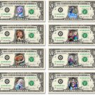 Disney's 8-set FROZEN Moments Collection on REAL DOLLAR BILL Money Cash Disney