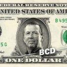 ERIC CLAPTON on REAL Dollar Bill Cash Money Memorabilia Collectible Celebrity