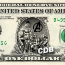 AGE OF ULTRON AVENGER on a REAL Dollar Bill Cash Money Collectible Memorabilia